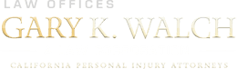 Logo of Law Offices of Gary K. Walch. A Law Corporation