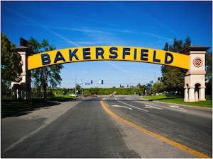 Bakersfield located in Kern County, California