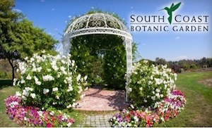 South Coast Botanic Garden in Palos Verdes Estates, California