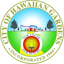 Hawaiian Gardens seal