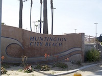 Huntington Beach in Huntington Park, California
