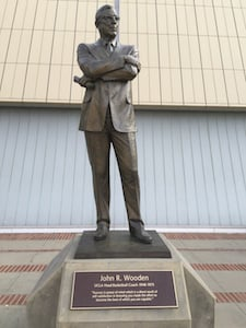 Statue of John R. Wooden
