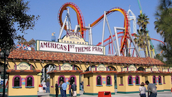 Knott's Berry Farm in Orange County, California
