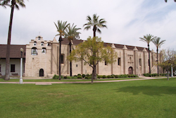 Mission San Gabriel Arcangel in San Gabriel, Los Angeles County, California