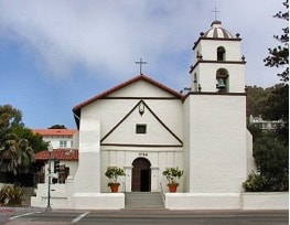 Mission San Buenaventura Church in Ventura County, California
