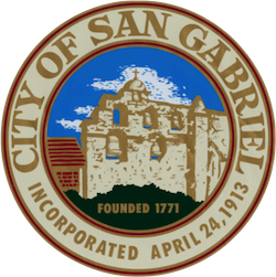 Official Seal of San Gabriel, Los Angeles County, California