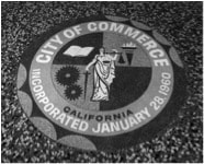 Official Seal of Commerce, Los Angeles County California