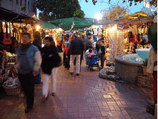 Olvera Street in Old Downtown L.A,. Calif.