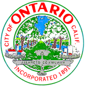 Official Seal of City of Ontario, CA