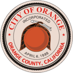 Official Seal of the City of Orange, California