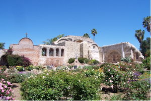 Mission San Juan Capistrano in Orange County, CA