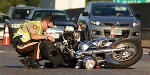 Motorcycle Crash Accident
