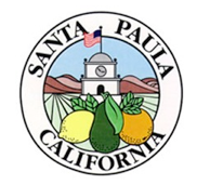 The official seal of Santa Paula, California