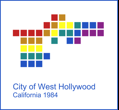 Official Colorful Seal of West Hollywood, Los Angeles County, CA