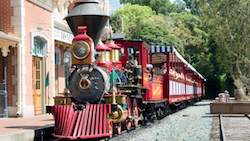 Train at Disneyland